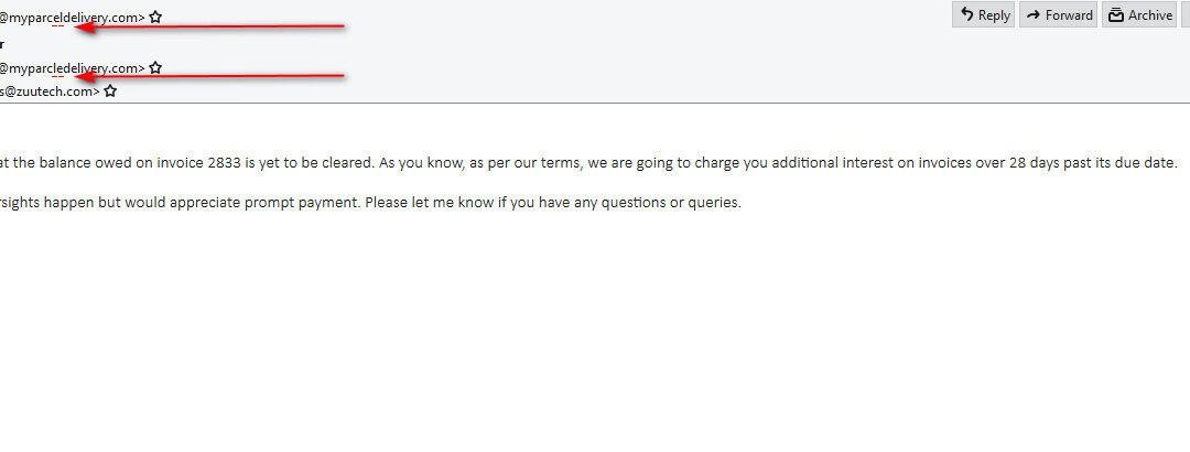 fake email 1